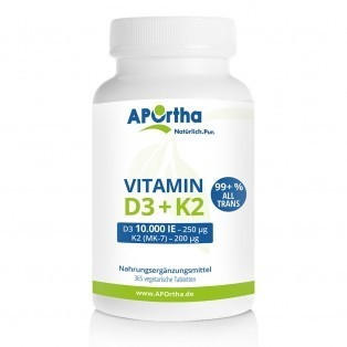 Vitamin D3 10000 IE 365 Tabletten